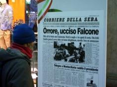Altra pagina storica della morte di Giovanni Falcone