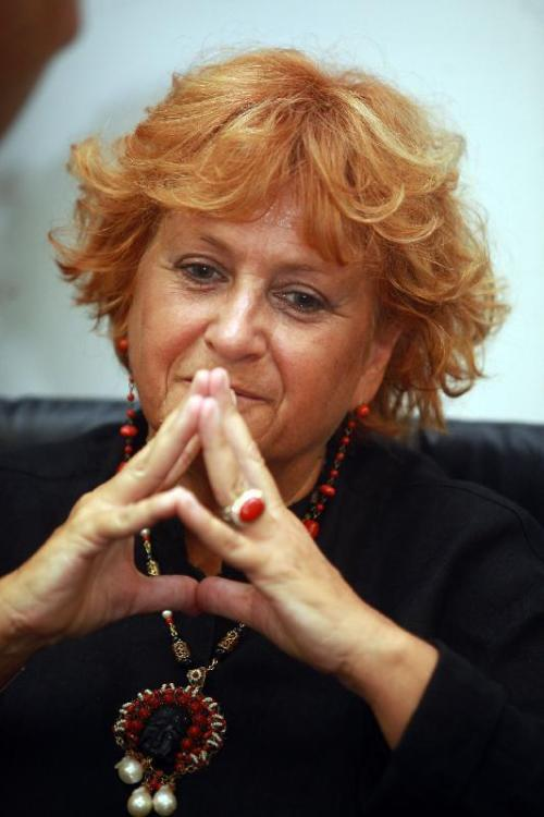 """Ilda Boccassini, Procureur de Milan - Amie de Giovanni Falcone, la courageuse magistrate italienne a instruit des affaires liées au crime organisé. Elle a permis l'arrestation des auteurs de l'attentat de Capaci, permettant l'arrestation de Totò Riina. Elle est en charge, notamment, de l'enquête sur Silvio Berlusconi dans l'affaire """"Ruby""""."""