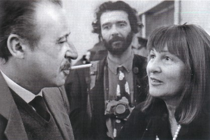 Avec le juge Paolo Borsellino
