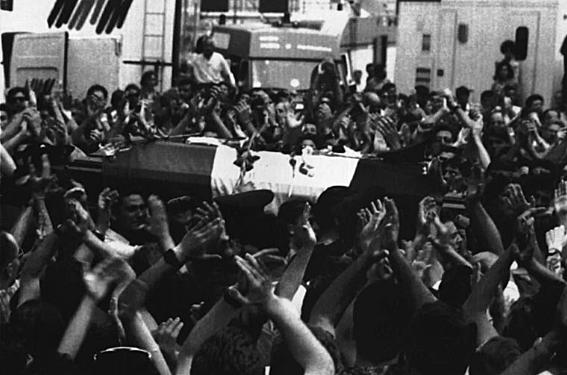 Les obsèques du juge Paolo Borsellino
