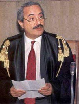 Le juge Giovanni Falcone