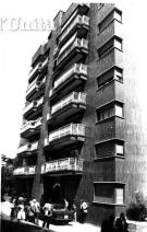 Luciano Liggio a été arrêté dans cet immeuble, à Milan, le 16 mai 1974 grâce à des écoutes téléphoniques de la police.