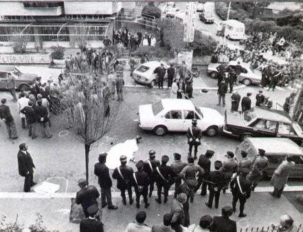 Via Fani, lieu où Aldo Moro a été enlevé