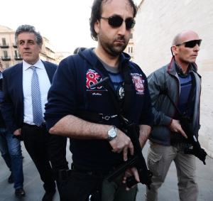 MAFIA: DI MATTEO A SIT-IN, GRAZIE PER VOSTRA PASSIONE CIVILE