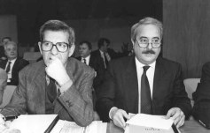 Avec Luciano Violante (Photo Marco Lanni - Archives Courier)