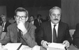 Avec Luciano Violante (Photo Marco Lanni - Archives Courier)