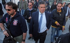 Le procureur de Palerme Nino Di Matteo qui a reçu des menaces concrètes de Toto Riina