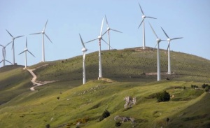 Un parc éolien en Sicile. Une véritable Eco Mafia.