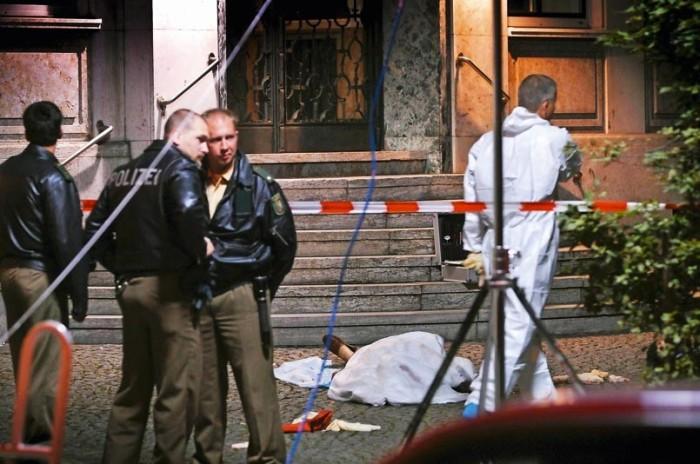 La fusillade qui a fait six morts devant la pizzeria Da Bruno, à Duisbourg (Allemagne)