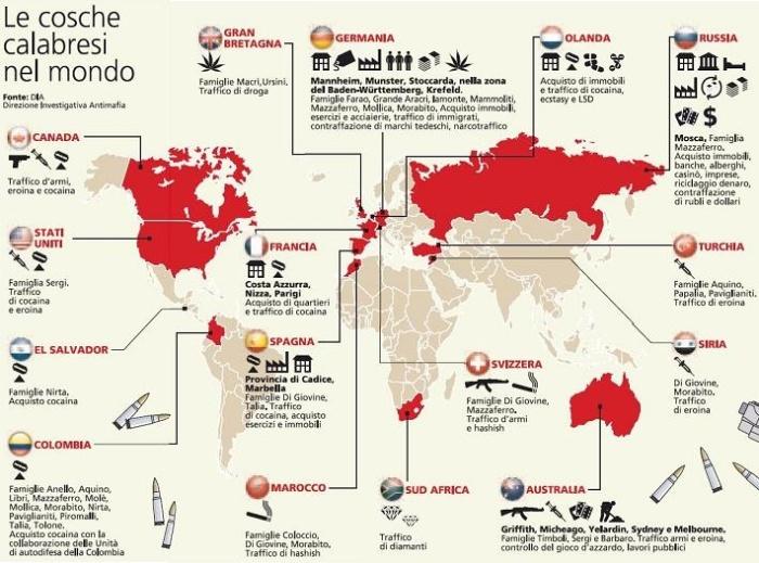 NDRANGHETA-operations-worldwide