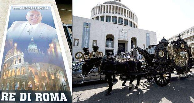 Le chef mafieux Vittorio Casamonica enterré en grande pompe à Rome