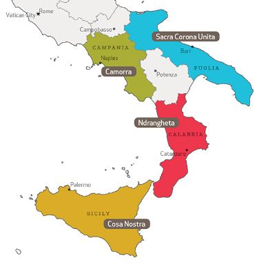Sacra Corona Unita - mafia des Pouilles
