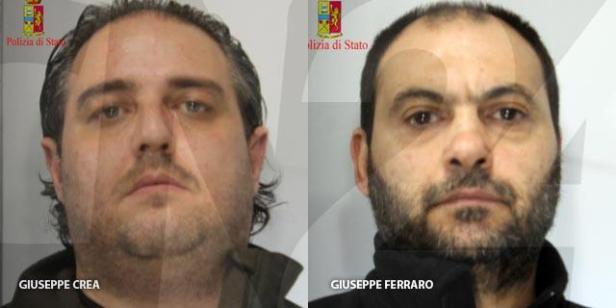 Giuseppe Crea et Giuseppe Ferraro