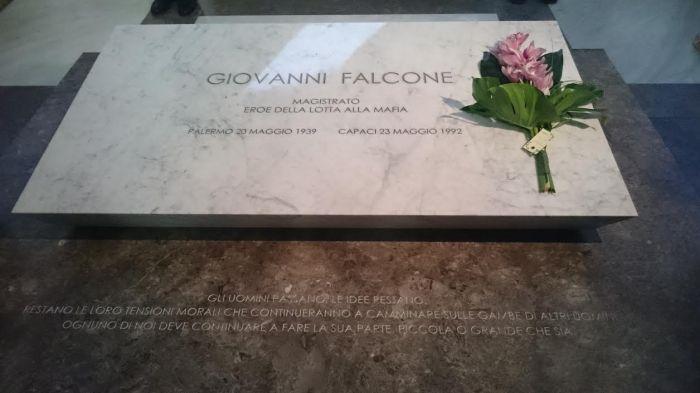 Giovanni Falcone au Panthéon de la Sicile