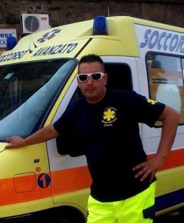 Davide Garofalo, ambulancier