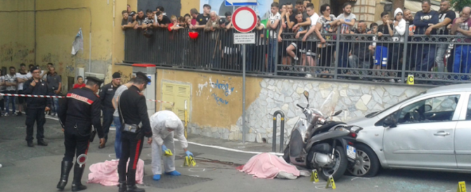 Violence mafieuse à Naples