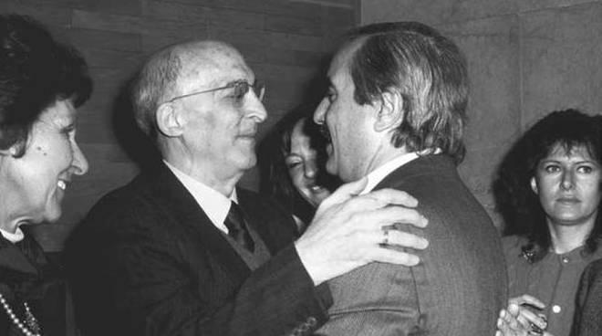 Antonino Caponnetto et Giovanni Falcone