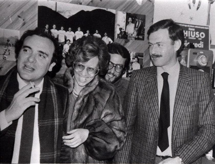 le commissaire beppe montana, à gauche, et le vice-ninni cassara, droite © letizia battaglia