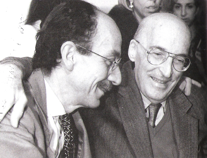 Giuseppe Ayala et Antonino Caponnetto