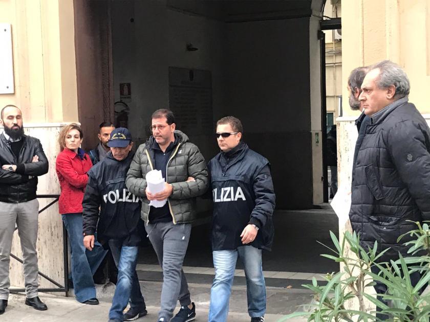 Le boss Stefano Marino